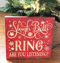 Get in the Christmas spirit with this intricately carved sign. Every detail has been carved into the wood so it will last for many more Christmas seasons to come. Made from solid wood with a rustic fi