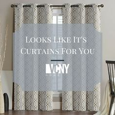 Display your home decor for all the world to see #VCNYHome #Window #Curtains #HomeDecor
