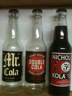 mr cola, double cola, nichols kola
