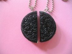 Best Friends Forever Oreo Cookie Necklaces by robinsjewelrybox