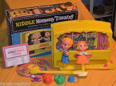 Vintage 1969 Mattel Kiddle Komedy Theatre Complete w Box Comedy Theater Liddle | eBay