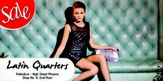 Latin Quarters has a great discount on apparels, handbags and much more!