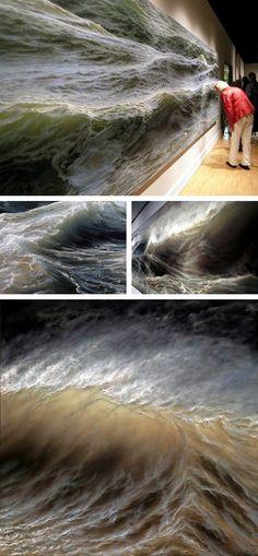 Ran Ortner - Swell, 2006 - oil on canvas  Love!!