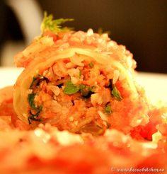 Sarmalute fara foc – raw food