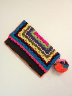 Moda Crochet Katie Jones: Color y plazas de la abuela