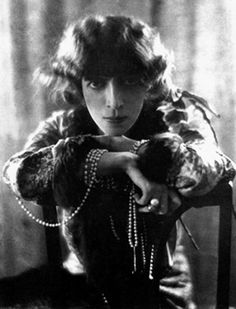"""Marchesa Casati  Once quoted saying, """"I want to be a living work of art,"""" Luisa, Marquise Casati Stampa di Soncino was an Italian heiress in early 20th century Europe. Known as the first female dandy, she was muse to and patronized some of the biggest artists of her time. Even now her outrageous and flamboyant style still manages to inspire designers to this day, including Lagerfeld, Tom Ford and John Galliano."""
