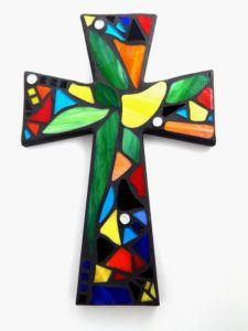 Large Cross in Mosaic - Geneva Presbyterian Church
