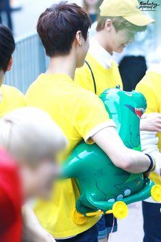 [01.07.16] Astro arriving at Music Bank - MoonBin e SanHa