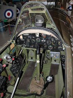 p-47 cockpit | UK Airshow Review Forums • P47-D Cockpit Detail