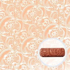 Bloom Tide Patterned Paint Roller by Painttern on Etsy