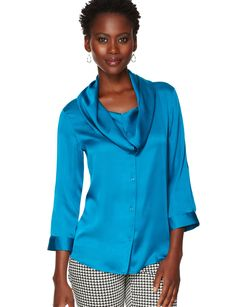 Cowlneck Blouse | Women's Tops | THE LIMITED