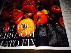 Heirloom tomatoes Deepwoods farm. We were featured in AR Life Magazine.