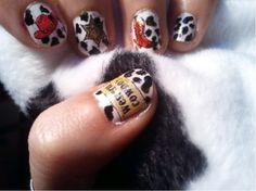 Yeehawww party nails x