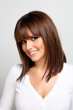 Cheryl Cole Shows Off Pool Skills In Making Of 'A Million . Cheryl Cole Shows Off Pool Skills In . Haircuts With Bangs, Long Bob Hairstyles, Latest Hairstyles, Brunette Hairstyles, Classic Hairstyles, Layered Hairstyles, Hairstyle Short, Short Haircuts, Summer Hairstyles