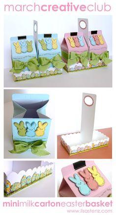 Milk carton using CTMH products