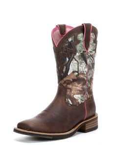 Ariat Women's Unbridled Boot - Powder Brown/Camo  http://www.countryoutfitter.com/products/51257-womens-unbridled-boot-powder-brown-camo