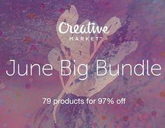 "Check out new work on my @Behance portfolio: ""June Big Bundle"" http://be.net/gallery/38121175/June-Big-Bundle"