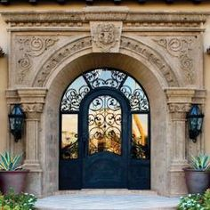 Ornate Arched Entryway