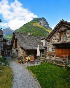 True beauty in Sonogno, Ticino - Switzerland