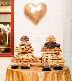 14 Wedding Dessert Ideas (That Aren't Cake!) in Honor of National Dessert Day | Photo by: Robyn Van Dyke Photography | TheKnot.com