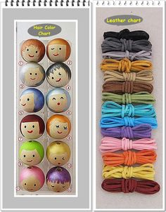 Crafts For Girls Wooden bead doll face Necklace.and Doll face key chain set. Wooden Bead Necklaces, Wooden Beads, Doll Crafts, Bead Crafts, Doll Face Paint, Cordon En Cuir, Best Gifts For Girls, Handmade Paint, Kids Necklace