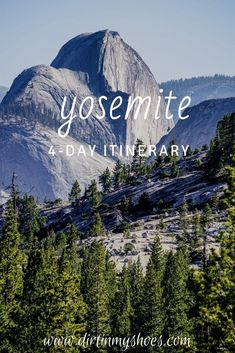 This trip itinerary to Yosemite National Park will make sure your road trip is a fun adventure. You will experience the best things to do in Yosemite, hiking the best hikes, and seeing the best sights. Happy trails! Yosemite Hiking, Yosemite Vacation, Yosemite Lodging, Places In California, California National Parks, Yosemite National Park, California Travel, Best Family Vacations, Dream Vacations