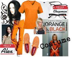 Orange is the New Black Costume Piper Chapman and Alex Vause Netflix TV show