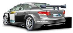 GPR Motorsport prepared Toyota Avensis for BTCC - Automotorblog