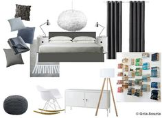 moroccan style planche tendancemoodboard chambre coucher ambiance marocaine gris souris ambiances maroc pinterest lausanne