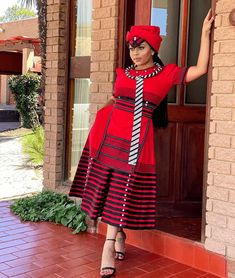 South African Traditional Dresses, Traditional Dresses Designs, Traditional Fashion, Traditional Outfits, Traditional Wedding, Short African Dresses, Latest African Fashion Dresses, African Print Dresses, African Wear
