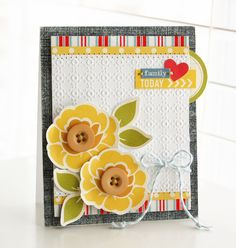 Another amazing card by Roree Rumph via October Afternoon blog