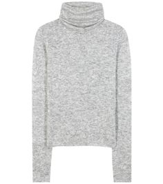 ACNE STUDIOS Dwyn Mohair And Wool-Blend Turtleneck Sweater. #acnestudios #cloth #turtleneck