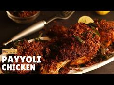 Payyoli chicken fry recipe   Kerala chicken fry - Payyoli kozhi porichathu recipe - YouTube