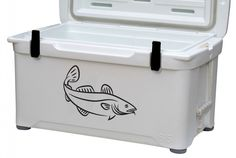ATLANTIC COD Fish Fishing Decal / Vinyl Sticker for/ Boat / Car / Bait Bucket