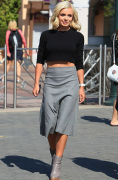 Midi skirt and top – The most popular models skirts
