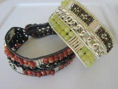 Triple Bracelets For a Couple. DIY . Chan Luu Style . Тройной браслет для Двоих .