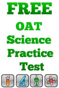 13 best oat test study guide images on pinterest test prep test free oat science practice test httpmometrixacademy fandeluxe Image collections