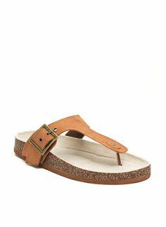 2 The T Faux Suede Sandals