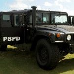 How does a police department LOSE a Humvee?