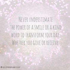 Never underestimate!