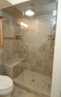 Steam Walk-In Shower Designs | Where this steam shower is was originally a run of the mill typical ...