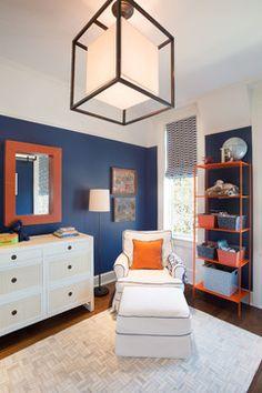 Baby Boy S Room Transitional Nursery Chicago Kathleen Virginia Photography Orange Boys Roomsbedroom