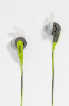 Get sporty. Bose Sport Headphones.