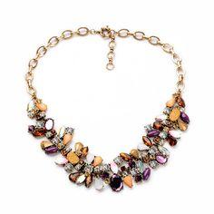 Stone Mix Collar Necklace – Fanduoduo Jewelry