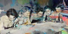 Supersonic Art: Joshua Flint, Paintings. Artist Joshua Flint's...