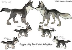 Image result for wolf pup base
