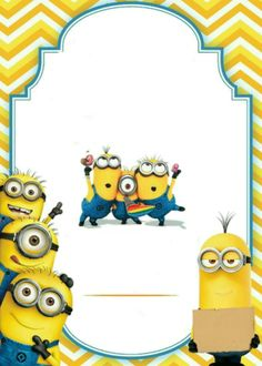 Minions Pikachu, Party, Fictional Characters, Maps, Minion Birthday Invitations, Minion Birthday Parties, Invitation Cards, White People, Manualidades