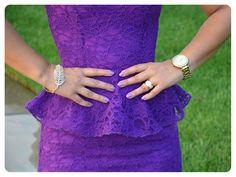 DIY peplum dress