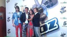 @davidbisbal Malu Melendi y Jesus Vasquez La Voz Telecinco