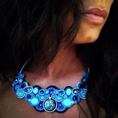 Necklace • Through the sea colors •
